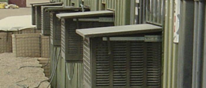 Aire acondicionado AC-M5 MKII con sistema telescópico de trampilla